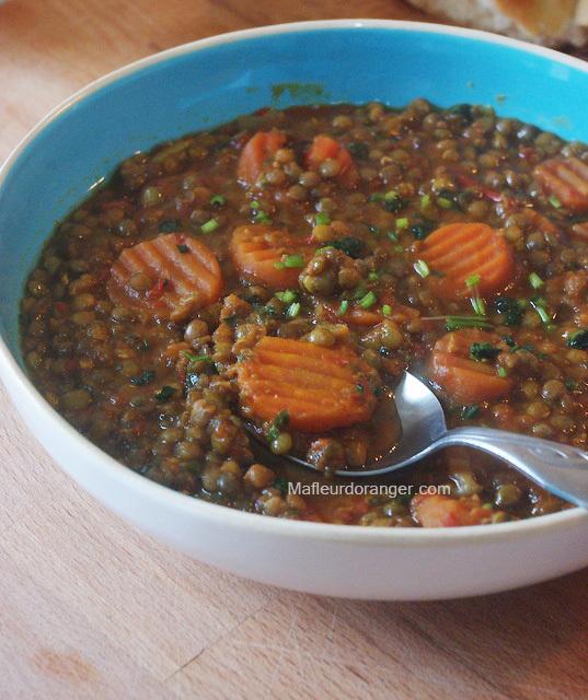 Lentilles A La Marocaine Samia