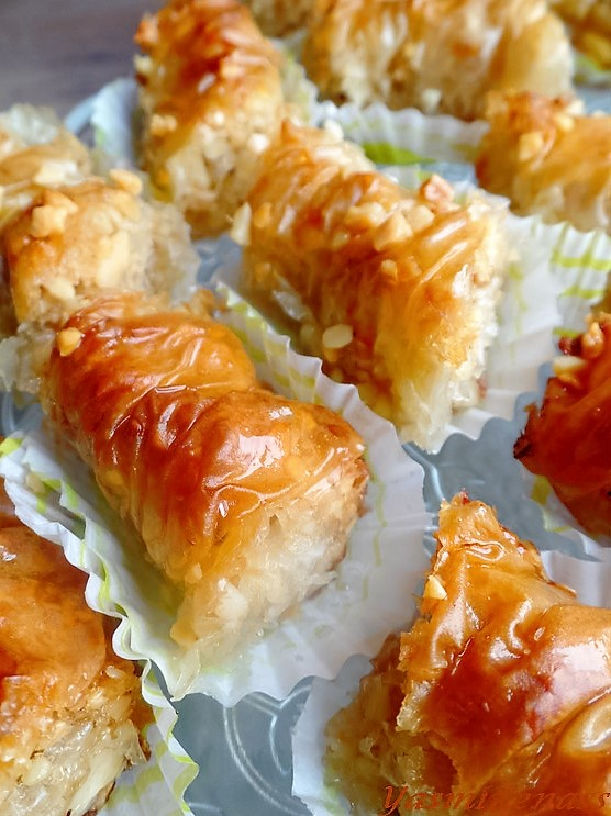 baklawas-rolls